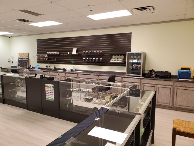 Cannibis Products Counter